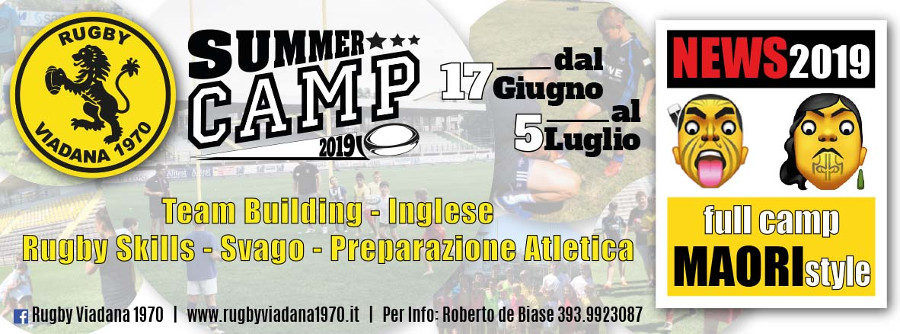 Rugby Viadana Summer Camp 2019