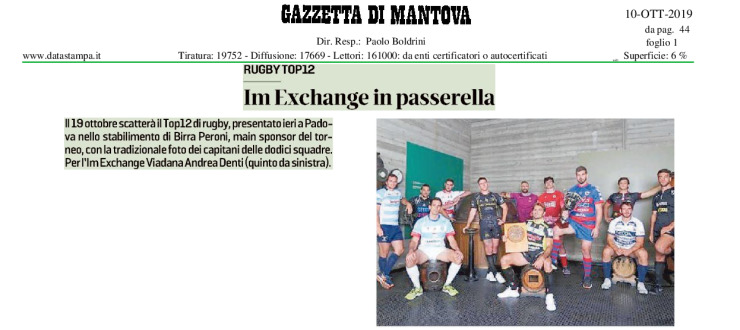 Im Exchange in passerella